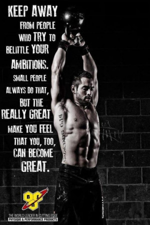 ... great make you feel that you too can become great. - pic of Rich