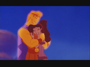 Disney Couples Hercules and Megara (Meg) in