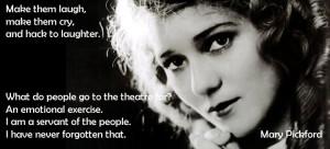 mary pickford # quotes # citazioni