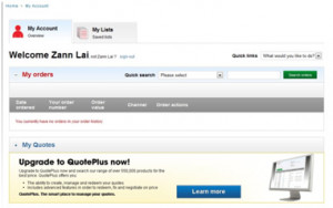 Upgrade to QuotePlus now to update your online profile
