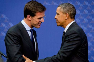 Obama has left the Netherlands. No accidents, no terrorist attacks, no ...
