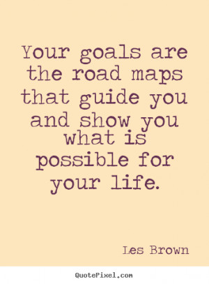 Road Map Goal Quotes Inspirational