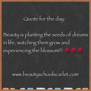 ... will you make your dreams blossom??? Have a magnificent Monday!!! MUAH