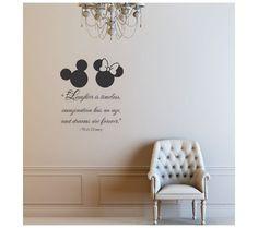 Darling Disney Wall Vinyl Quotes for the Nursery or Playroom | Disney ...