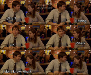 jim and pam the office quotes