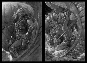 Sketches Beowulf