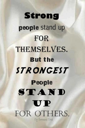 Strong People Stand Up