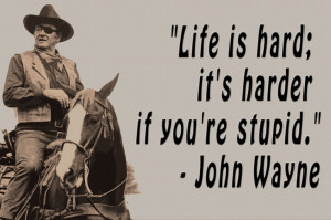 john wayne. for my desk