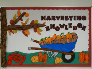 harvesting knowledge bulletin board