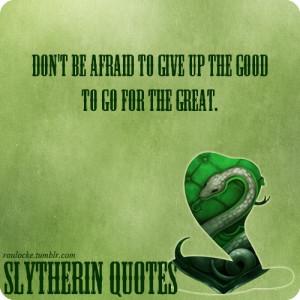 Slytherin House Pride