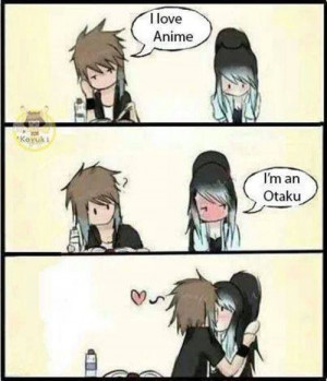 Cute, Anime Couple, Otaku