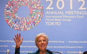 IMF chief Christine Lagarde urges eurozone and US action to end ...