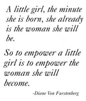 ... fashion designer Diane Von Furstenberg shares inspiring quotes that