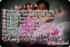 Happy Mothers Day Photos for Facebook with Quotes