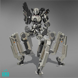 Quadruped droid by Alex Kryvolapov (Bunifazzuy) Concept Inspiration ...