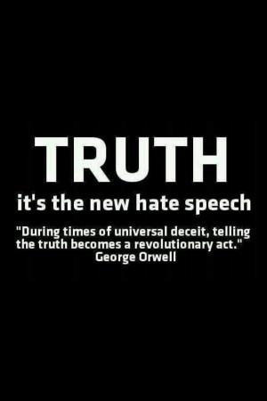 The new hate speech.