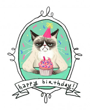 ... ♫ birthday!!! Give her a birthday present and follow her