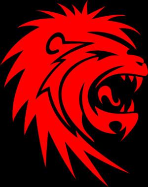 Roaring Lion Face Clip Art