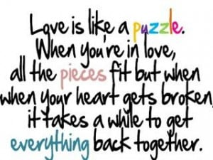 Puzzle Piece Love Quotes