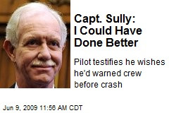 Insane with a Captain Sully Quotes rubric