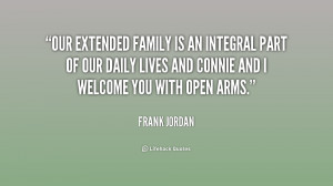 Our extended family is an integral part of our daily lives and Connie ...