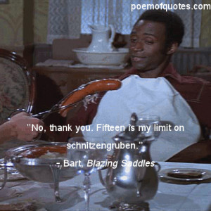 Funny Quotes From Blazing Saddles