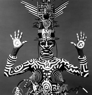KEITH HARING / GRACE JONES / 1984
