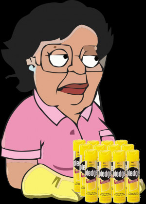 Funny Quotes by Consuela the Mexican maid on The Family Guy