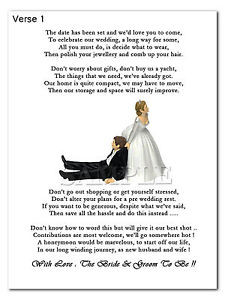 Wedding Poems For Bride And Groom Image is loading wedding-cash-