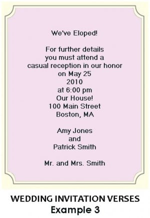 ookgrylerap: funny wedding invitation wording