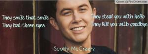 Scotty McCreery cover