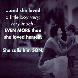 There's nothing like having sons. I'm blessed to have two of the ...