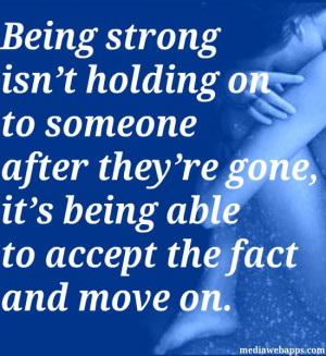 quotes about not being able to move on