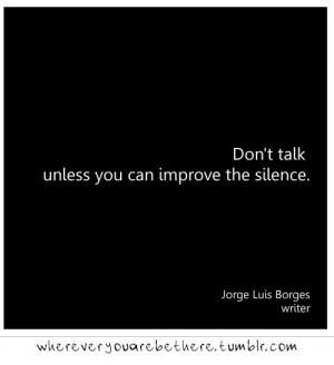 Jorge Luis Borges quote