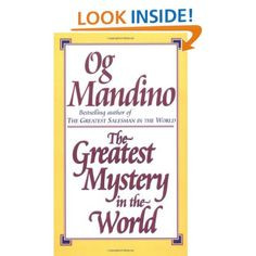 ... com : Greatest Mystery in the World (9780449225035): Og Mandino: Books