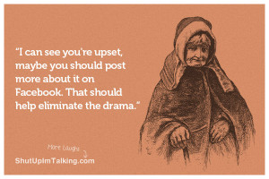 BLOG - Funny Quotes On Facebook Drama