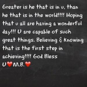 God Bless U M.B. - @monicadbrown- #webstagram