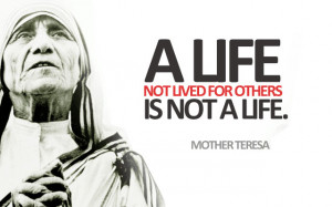 Most Inspirational Quotes & Sayings by Mother Teresa