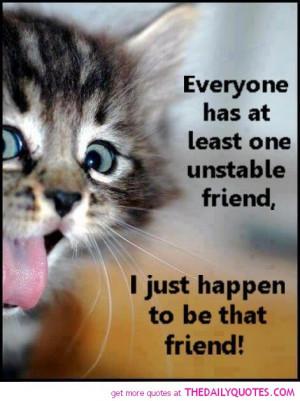 cat-pictures-hilarious-friends-unstable-friend-quote-friendship-quotes ...