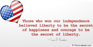 Fourth Of July Quotes For Independence Day. As Greeting Cards