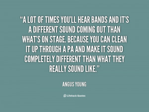 Quotes About Bands