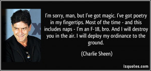 More Charlie Sheen Quotes