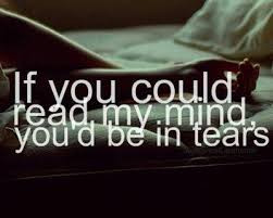 quotes about life comments depression quotes tears from mind reading