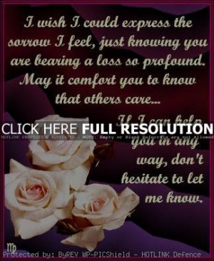 sympathy quotes, meaningful, sayings, flowers