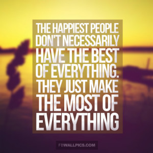The Happiest People Are Grateful Wisdom Quote Picture