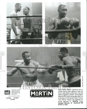 Martin Lawrence After Fight Tommy Hearns
