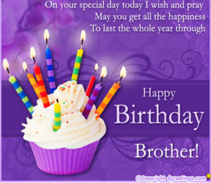 HAPPY BIRTHDAY BROTHER.....