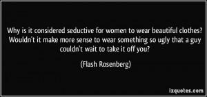 More Flash Rosenberg Quotes