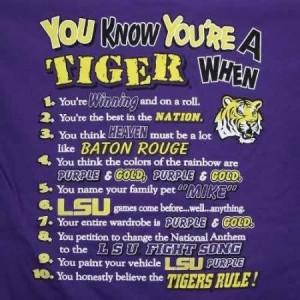LSU motto. Love it