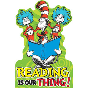 Reading Posters Dr Seuss Dr. seuss reading is our